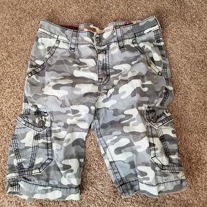 Rock Revival Camo Shorts Size 33